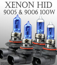 AGQ 9005 9006 100W Combo Package High and Low Beam XENON HID Bulbs Super WhW3422