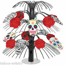 35cm Halloween Muertos Day Of The Dead Cascade Table Centrepiece Decoration