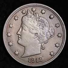 1911 Liberty V Nickel CHOICE BU FREE SHIPPING E240 BM