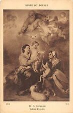 BF40693 murillo sainte famille louvre france painting vierges virgin holly lady