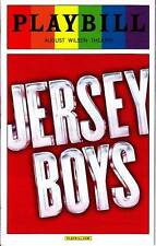 JERSEY BOYS PLAYBILL BROADWAY PLAY JUNE 2014 GAY PRIDE SPECIAL EDITION NYC