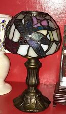 Stained Tiffany Style/Mission Leaded Slag Glass? Dragonfly/Multicolor Fairy Lamp