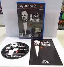 Console Game Gioco SONY Playstation 2 PS2 Play PAL ITALIANO IL PADRINO EA Ita