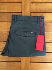 HUGO BOSS HELGO-D Red label Chinos Hose Gr. 52 w36 Blaugrau NEU! SALE