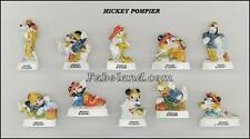 Fèves MICKEY POMPIER    WD211  AR