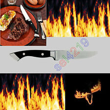 Longhorn Steakhouse Steak Knife BBQ Kitchen Dining Chop Camping Knives New