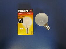 PHILIPS Glühlampe E14 15W P45  DECO 330239 Tropfenlampe Ice Crystal