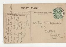 Fred Haysman Post Office Thetford 1905 292a