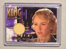 King-Kong-The 8th Wonder-Gown-AUTHENTIC-Costume Card-Naomi Watts-Ann Darrow