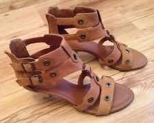 New ��Clarks ��Size 8 D Stop Clock Rust Toffee Brown Sandals Shoes (42 EU)