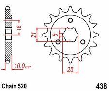 KR Ritzel 14Z Teilung 520 SUZUKI DR 750 S Big 88-89 New... front sprocket
