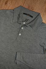 Billionaire Couture 2XL Longsleeve Polo Shirt Cashmere  Silk Sweater 3XL Jumper