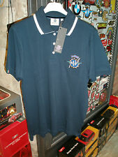 POLO SHIRT BLUE MV AGUSTA ORIGINALE OFFICIAL TAGLIE SIZES S