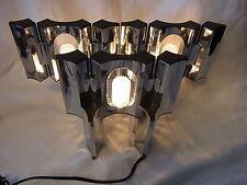 Mid Century 70er Tisch Lampe Licht Objekt Steck System 5 Teile # 3