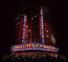 JOE BONAMASSA LIVE AT RADIO CITY MUSIC HALL CD & DVD ALBUM SET (October 2 2015)