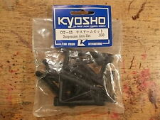 OT-13 Front & Rear Suspension Arm Set - Kyosho Optima Javelin Stinger
