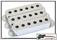 NEW COVERS STRAT 52mm SILVER pour  guitares  Fender, Squier etc