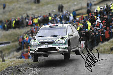 Matthew Wilson SIGNED Ford Focus RS WRC 08 , WRC Rally Wales GB 2010