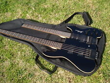 Rare Steinberger Spirit Double Neck Bass and Guitar Black with gigbag