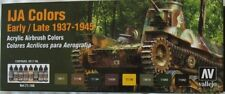 Vallejo Model Air Val71160 WWII Imperial Japanese Army Colour paint set