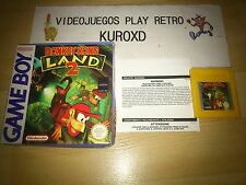 NINTENDO GAME BOY DONKEY KONG LAND 2 SIN MANUAL PAL ESPAÑA