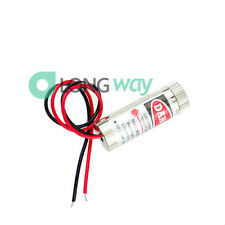 3-5V 5mW Adjustable Red Laser Module Focus Stripe Lens Laser Head