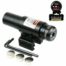 Hunting Compact 650nm Red Dot Laser Sight With 20mm Rail Mount  Fit Bow/Rifle