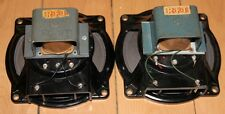 "rare matched pair VEB 7"" tweeter midrange Field Coil speaker, Klangfilm project"