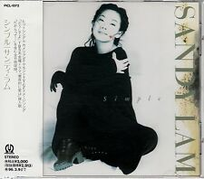 SANDY LAM / SIMPLE JAPAN CD OOP W/OBI