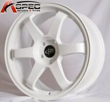 1 ROTA GRID 17X9 5x100 ET35 73.1 WHITE RIM WHEEL +35