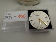 106 - Movimento Philip watch eta 2824-2 running working sold for parts or repair