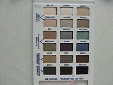 THE BALM EYESHADOW AND BROW PALETTE WITH SHAPING STENCILS BALMSAI