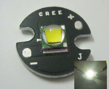 NEW Cree Single-Die XM-L LED T6 White Chip 16mm Round Base for DIY