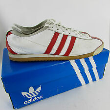 ADIDAS ITALIA 1960 (2002) Size 9 TRAINERS RARE DISCONTINUED WHITE RED 382382