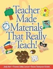 Teacher Made Materials That Really Teach!-ExLibrary