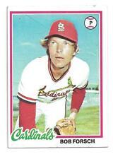 1978 Topps #58 Bob Forsch St. Louis Cardinals