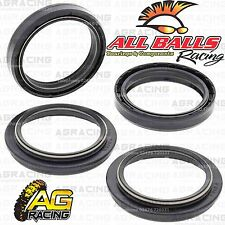 All Balls Fork Oil & Dust Seals Kit For KTM EGS 250 1997 97 Motocross Enduro