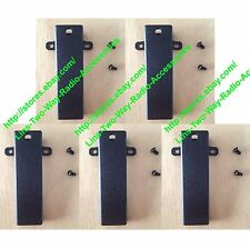 5x Belt Clip for Kenwood TK-280 TK380 TK-480 TK-3107 TK-220 TK-2160 TK-2200