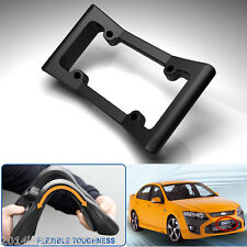 Car SUV Front Bumper Guard Anti-Collision License Plate Frame Protection Cover