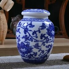 Ceramic Funeral Urn for pet ashes cat keepsake small Size Memorial cremation urn