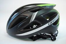 Cannondale CAAD Bicycle Helmet Black/Green 52-58cm Small/Medium