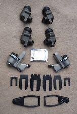 FORD CONSUL ZODIAC ZEPHYR Mk2 FR & R WHEEL CYLINDERS X 6 REAR BOOT & CLIP KIT X2