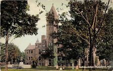 Michigan postcard Muskegon, Hackley School ca 1913