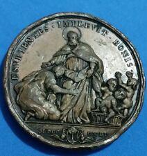 Medaglia Bologna Opera Pia dei Poveri Vergognosi 1845 opus O. Hamerani Rara2