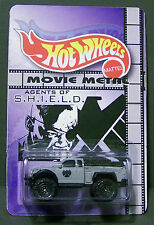 """Custom HotWheels and package of  """"Movie Metal""""  from  AGENTS OF SHIELD"""