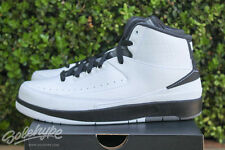 NIKE AIR JORDAN 2 RETRO II SZ 6 Y GS WING IT BLACK WHITE DARK GREY 834283 103