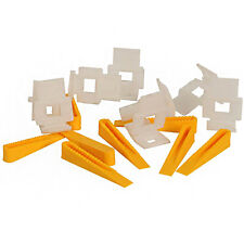 Vitrex LASH Floor Tile Levelling Spacers 150 Pack Spacing Wedges and Clips