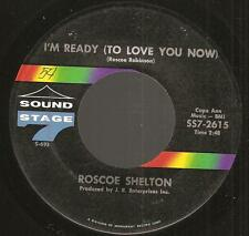 ROSCOE SHELTON: I'm Ready To Love/You Ought To Take Time Out~Soul SOUND STAGE 7
