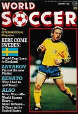 World SOCCER FOOTBALL MAGAZINE OTTOBRE 1988 > FC Barcelona, Germania Ovest, JUVENTUS