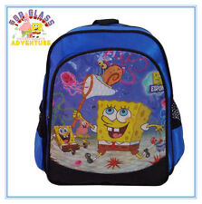 SPONGEBOB SQUAREPANTS CHILDREN BOY KID PRESCHOOL BACKPACK BAG SCHOOL STATIONERY
